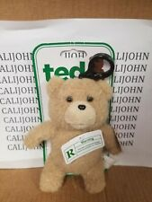 Ted Talking Backpack Clip Plush Teddy Bear Rated R 12-14 Phrases  New