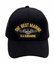 "US Submarine Service ""The Best Marine"" - Hat (1468) BRAND NEW Ballcap Cap 40793"