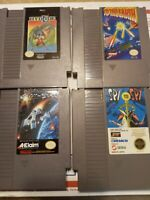 Nes 4 Games Lot Spy Vs. Spy Hydlide To The Earth Awesome Original Nintendo Lot