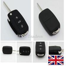 For VW 3 Button Remote Silicone Case ONLY Golf Bora Jetta Passat Polo
