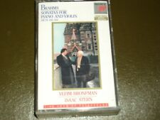 BRAHMS SONATAS<>BRONFMAN / STERN ° Audio Cassette ~Made in Canada *  1T1-8364