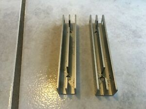 Zwei E - Profile in Tablar Höhe 11 cm Silber für Regal 606 Vitsoe Dieter Rams