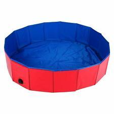 47' Dog Pet Swimming Pool Collapsible Pvc Pet Pool Kiddie Bathing Tub Foldable