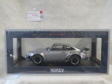 Porsche 911 turbo 3.3 1977 Silber silver 1:18 Norev