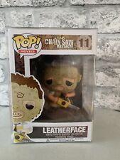 Funko Pop Leatherface #11 TEXAS MOTOSIERRA MASACRE Vinilo Figura-Nuevas Películas