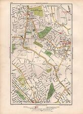 1936 LARGE SCALE MAP -  LONDON WEST NORWOOD THORNTON HEATH CRYSTAL PALACE SYDENH