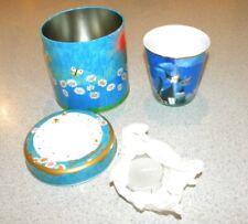 Goebel Rosina Wachtmeister Fine Porcelain Tea Light Cup Bella Giornatta New