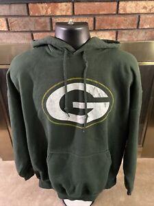 GREEN BAY PACKERS NFL Football Hooded Hoodie SWEATSHIRT Mens Size XL
