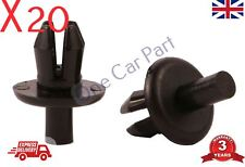 20x CLIPS WHEEL ARCH LINER PUSH IN RIVET FOR BMW FIAT ALFA ROMEO VAUXHALL