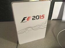 F1 Formula 1 Steel book Case 2015 Exclusive Case Only No Game Xbox Sony ps xb