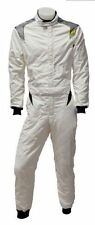 Trajes y monos de karting y racing color principal blanco