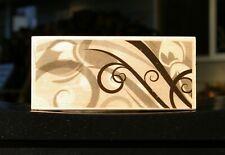 "Misty Swirl Long 5"" Wood Mounted Rubber Stamp 2010 by Hero Arts # K5347"