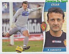 383 CESAR BRAZIL REAL ZARAGOZA STICKER LIGA ESTE 2007 PANINI