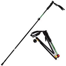 Portable Trekking Pole Foldable Hiking Stick Ultralight, Adjustable Height