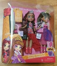 Vi and Va Birthday Celebration *NIP* Ages 3+ 2 Dolls with Clothing/Accessories