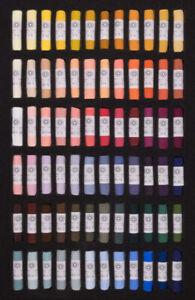 Unison Artist Quality Soft Pastels Portrait Set of 72 Colours