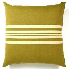 Ralph Lauren Down Throw Pillows Large Square Green Lot of 2 Sham Cover Insert 25