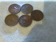 11/23B Mexico 20 Centavos 1946, 51, 52, 53 and 54.
