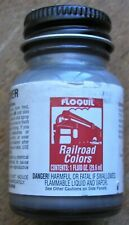 FLOQUIL Railroad Colors OLD SILVER OOP  New Old Stock    Last ONE