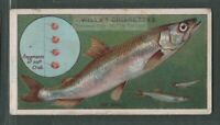 Smelt Fishing With Piece Of Crab Bait Rod Reel c1910 Trade Ad Card