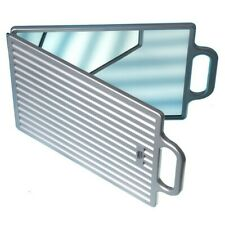Hair Tools Double Folding Mirror - Silver