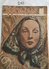 WOMAN MAGAZINE 1938 MAY 2,FASHION AND ADS,RARE AUSTRALIAN WOMENS MAG