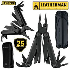 LEATHERMAN SURGE BLACK NEW VERSION PINZA MULTIFUNZIONE PLIER MULTITOOL + FODERO
