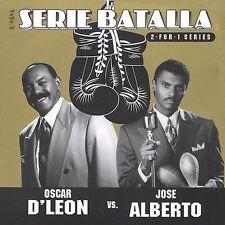 OSCAR D'LEON VS JOSE ALBERTO - SERIE BATALLA / RMM SALSA / VERY GOOD CD