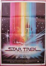 STAR TREK ORIGINAL 1st release film poster Spanish 1980 RARE!