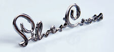 SILVER CROSS PRAM BODY BADGE EMBLEM LOGO SPARES  - KENSINGTON  COACH BUILT