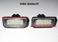 2001 - 2007 Mercedes C300 C350 C32 C55 LED License Plate Light W203 4D Sedan