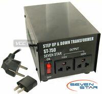 750w watt 110/220 Step Up Step Down Transformer new 750 Voltage Converter