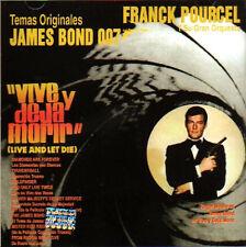 FRANCK POURCEL CD - LIVE AND LET DIE JAMES BOND 007 Vive y Deja Morir de Amor