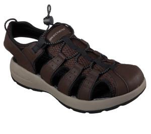 Skechers 51834 Melbo Journeyman 2 Brown Sandal