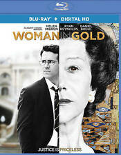 Woman in Gold (Blu-ray Disc, 2015, Includes Digital Copy UltraViolet)
