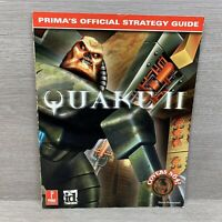 Prima's Official Strategy Guide Quake II Covers Nintendo 64 N64
