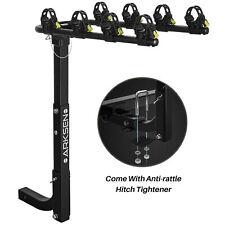 "Premium 4-Bike Carrier Rack Hitch Mount Swing Down Bicycle Rack W/ 2"" Receiver"
