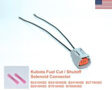 Kubota Fuel ShutOff Solenoid Connector B-SERIES B2410HSD B2410HSDB + Many More