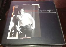 JOHNNY HALLYDAY RARE GROS COFFRET LES ANNEES VOGUE 5 CD 1 DVD 1 LIVRET
