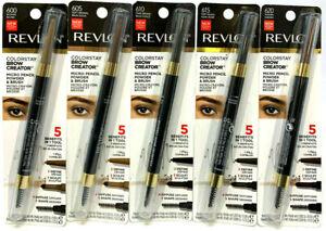 (4) Revlon Colorstay Brow Creator Micro Pencil Powder & Brush YOU CHOOSE COLOR