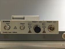 Agilent 81480A Tunable Laser Source 1370 to 1480nm  -  81640A/81680A/81672A