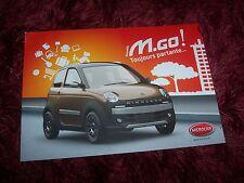 Catalogue / Brochure MICROCAR M.Go 2014 //