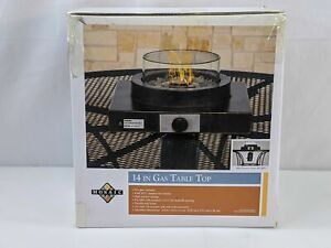 Mosaic Gas Table Top Burner 8000 BTU Propane Tank Required 14x14x6 in