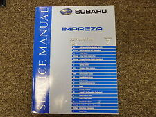 2006 Subaru Impreza Section 7 Body Interior Exterior Shop Service Repair Manual