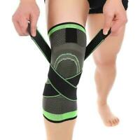 Durable Breathable Running Jogging Sports Sleeve Pad 3D Support Brace Knee C0A5