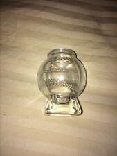 Jim Beam MVP Glass Baseball Shot Glass. Bar ware.