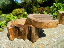 Wooden Trinket Secret Box Carving - Hand Carved Bowl Teak Puzzle Box - Natural