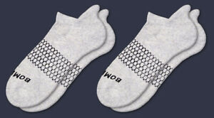 2-Pack GRAY Bombas Men's Ankle Socks Size Large NWT
