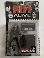 NIB Kiss Alive Ace Frehley Space Ace Super Stage Figure McFarlane Toys 2000