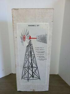 "Wind Mill Kit Vintage All Metal 17"" IN BOX"